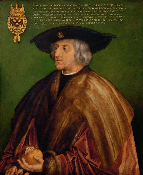 Kaiser Maximilian I. von Albrecht Dürer im KHM