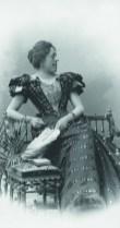 ALBERT MAYER, Olga Wisinger-Florian, um 1897 © Kunsthandel Giese & Schweiger, Wien Foto: Kunsthandel Giese & Schweiger, Wien