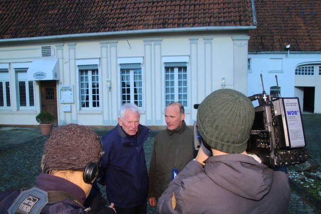WDR Drehtermin im Landgasthaus - Kulturgut Samsaon
