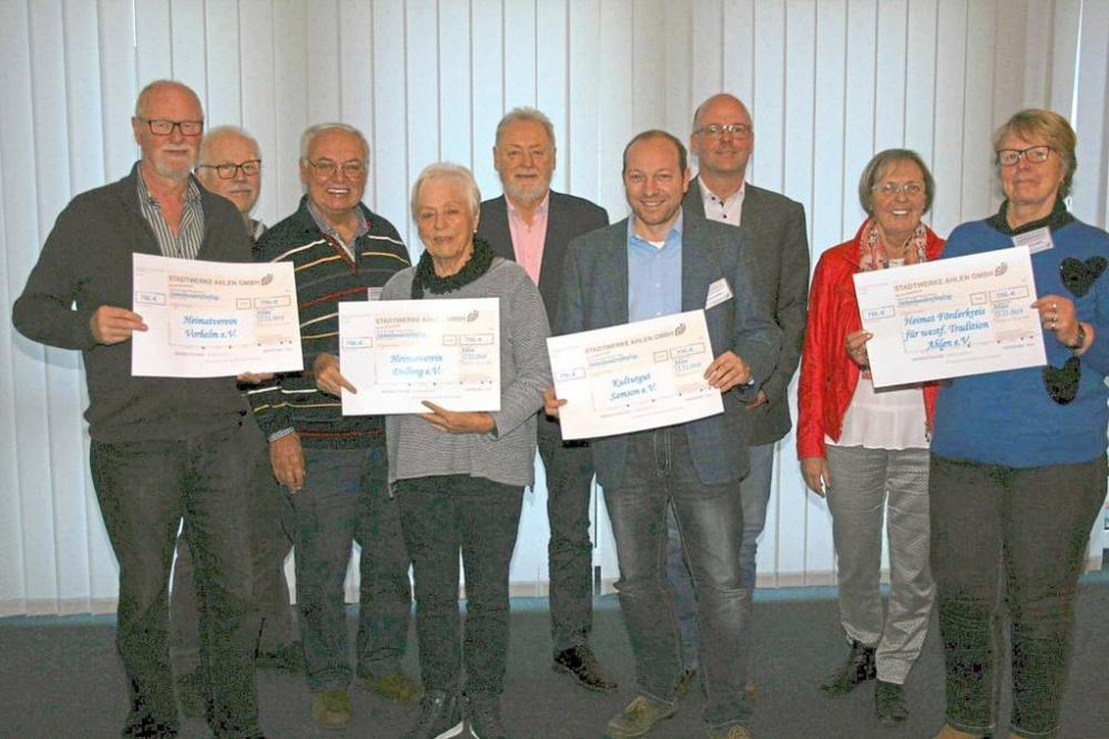 Spenden Ahlener Stadtwerke