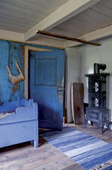 Kulturhaven, Den blå 1700-tallsstua i Kulturhaven