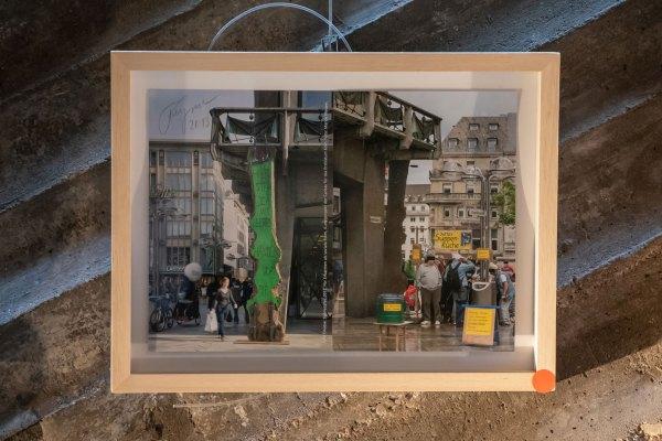 rmel und Felix Droese Ausstellung Malerei Skulpturen Aquarelle Zeichnungen Kulturkirche Ost Stimmimprovisation GAG Joseph Beuys