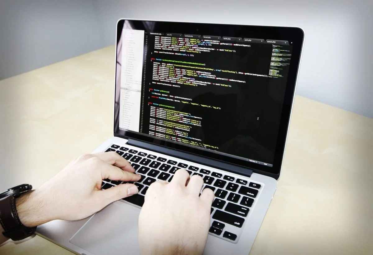 Coding am Bildschirm