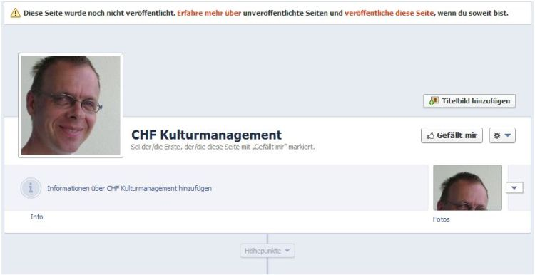 Facebook: CHF Kulturmanagement