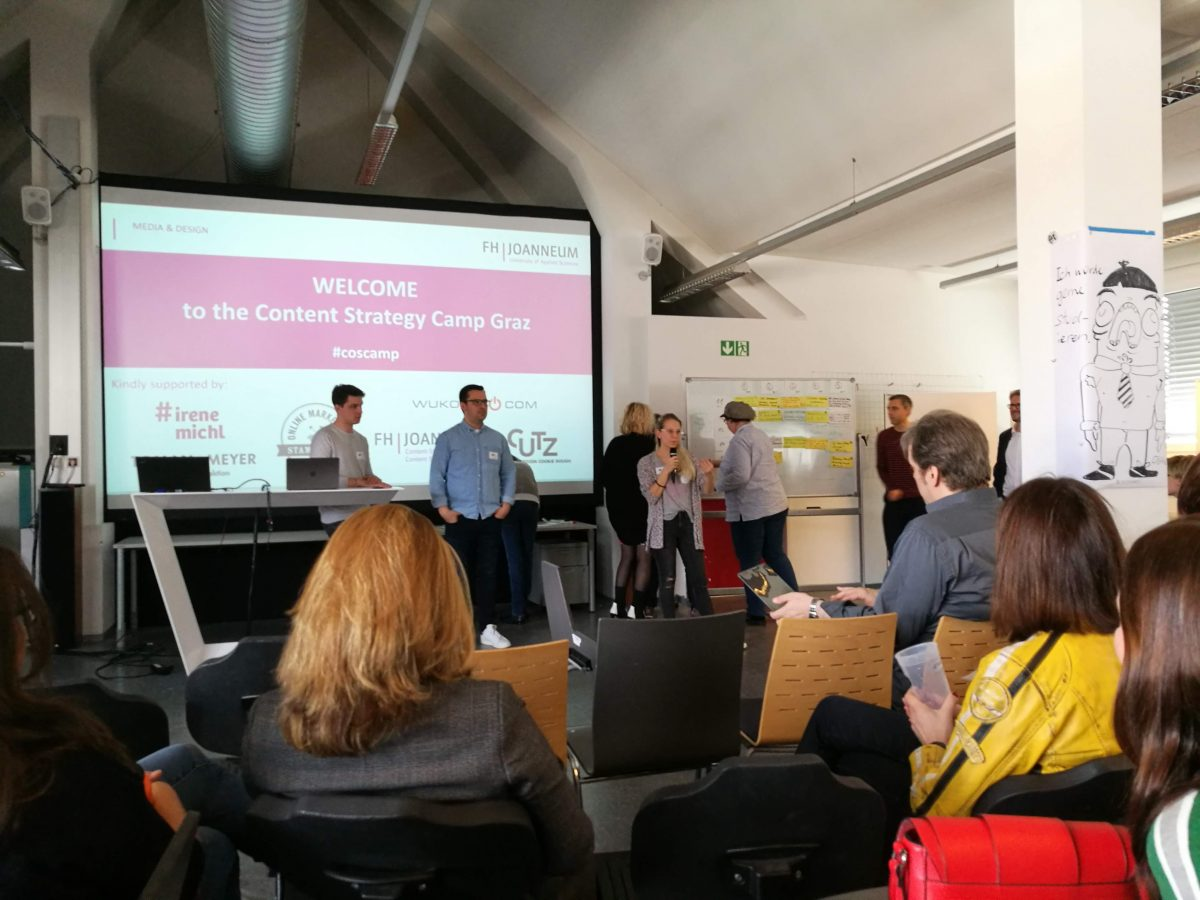 Content Strategy Camp Graz 2019