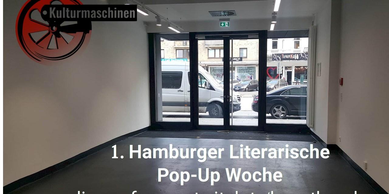 Programm der 1. Hamburger Literarische Pop-Up Woche