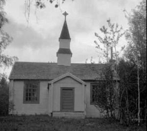 Jäkkviks kapell omkring 1920.