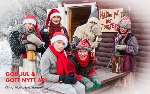 Julkort från Norrbottens museum. Fotograf: Kjell Öberg © Norrbottens museum