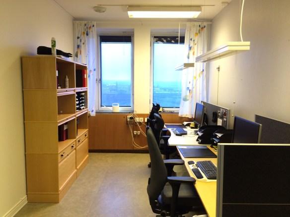 En vanlig storlek på kontor i stadshuset. Foto: Jennie Björklund © Norrbottens museum