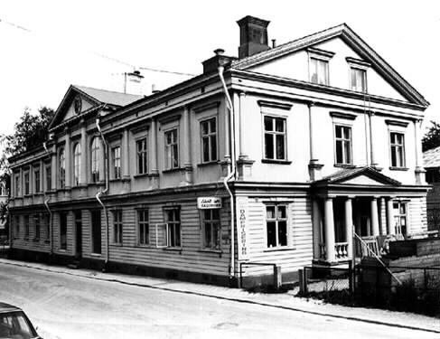 Byggnaden som blev Folkets hus i Luleå