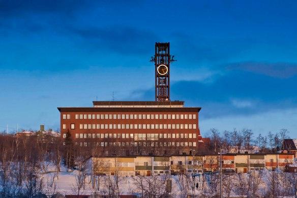 Kiruna stadshus. Foto: Daryoush Tahmasebi