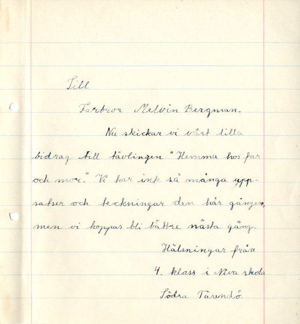 bygdespegeln-niva-folkskola-klass-4-hemma-hos-far-och-mor-brev-till-melvin-bergman