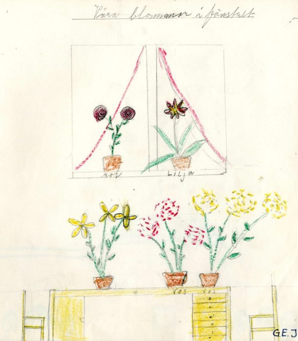 bygdespegeln-svartbyns-folkskola-klass-3-vara-blommor-i-fonstret