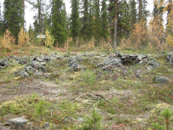 Bild på stenformationer