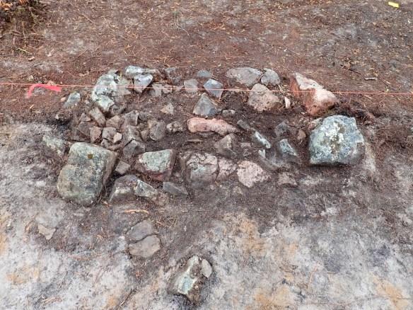 Arkeologisk undersökning, härdar, Esrange