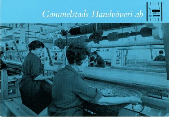 02. Gammelstads Handväveris broschyr. Norrbottens Föreningsarkiv, ark. nr. 2676