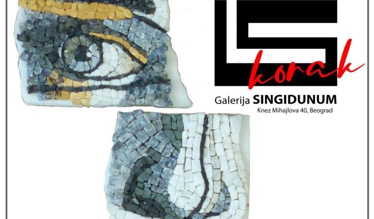 """Izložba mozaika umetničke grupe """"Iskorak"""" u galeriji Singidunum"""