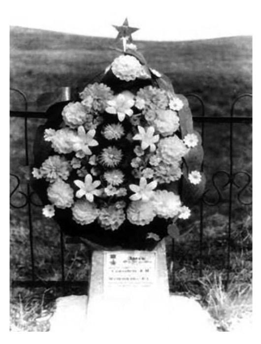 Мемориал на месте боя.