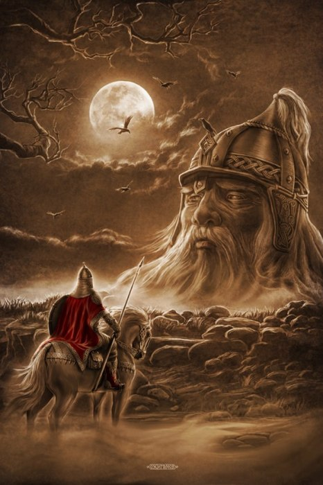 Руслан и Голова. Автор: Игорь Ожиганов.