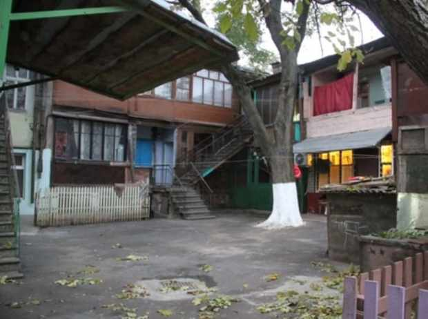 Тот самый одесский двор на Молдаванке, где проходили съемки | Фото: kp.ua
