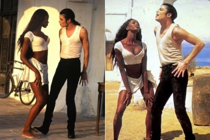 Наоми Кэмпбелл в клипе Майкла Джексона | Фото: 24smi.org