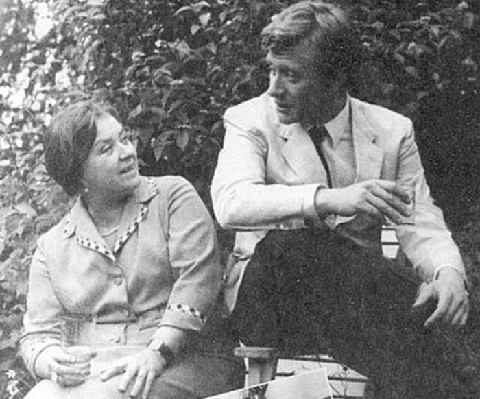 Андрей Миронов с матерью | Фото: bulvar.com.ua