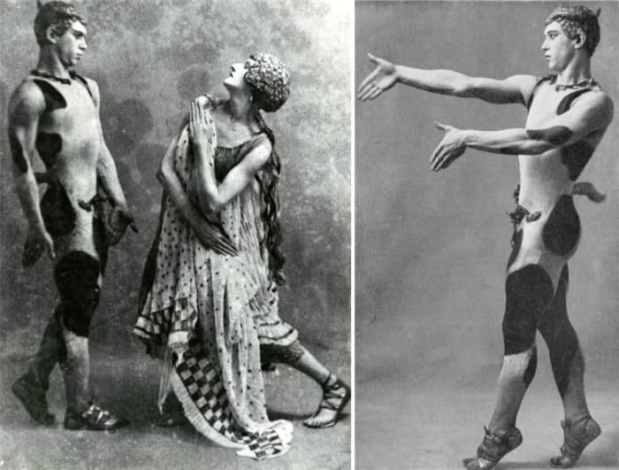 Вацлав Нижинский в балете *Послеполуденный отдых фавна* | Фото: renclassic.ru