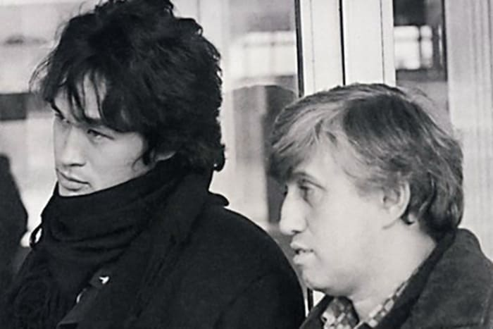 Виктор Цой и Юрий Айзеншпис | Фото: 24smi.org