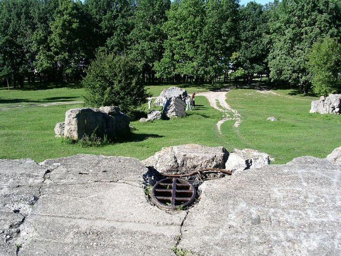 Руины ставки Гитлера «Вервольф».   Фото: ru.wikipedia.org.
