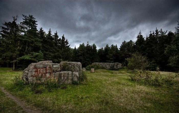 Останки бункера Гитлера под Винницей.   Фото: ezoterik-page.com.