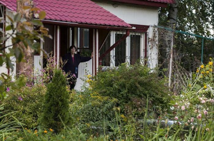 Наталия Фёдоровна и сегодня живёт в том же доме. / Фото: www.pravmir.ru