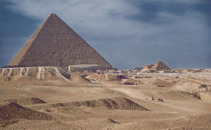 Пирамида Хеопса. / Фото: www.mstecker.com