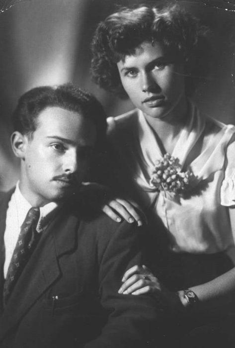Александр Мень и Наталия Григоренко, 1950-е годы. / Фото: www.pravmir.ru
