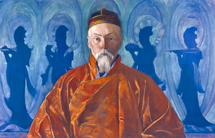 «Портрет Николая Рериха». Автор: Святослав Рерих.