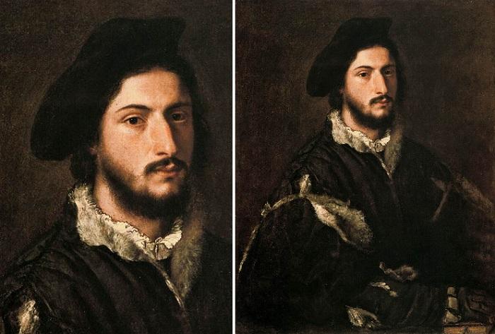 Портрет Томазо Винченцо Мости. Автор: Тициан Вечеллио.