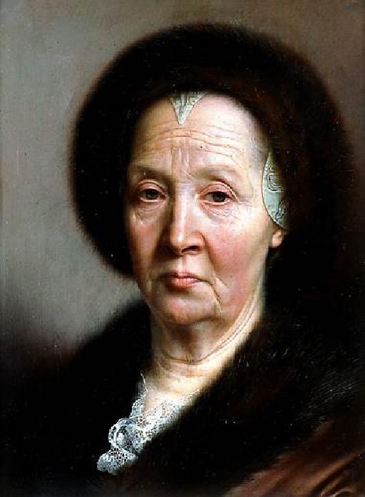 Портрет пожилой дамы. Автор: Кристиан Сейболд.