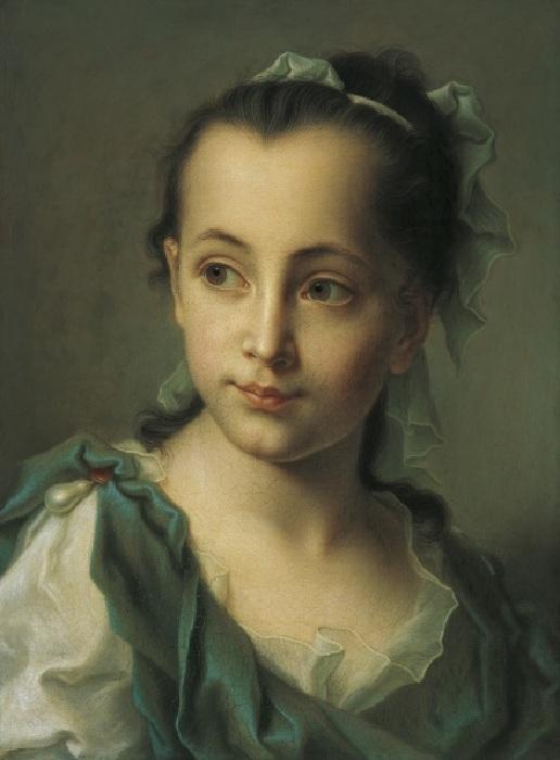 Портрет девочки. Автор: Кристиан Сейболд.