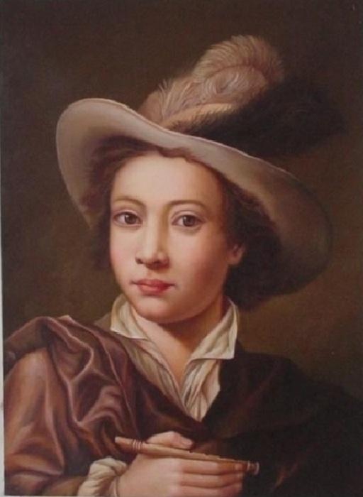 Портрет мальчика. Автор: Кристиан Сейболд.