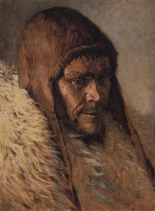 Портрет зырянина, 1890-е годы. Автор: Василий Верещагин.