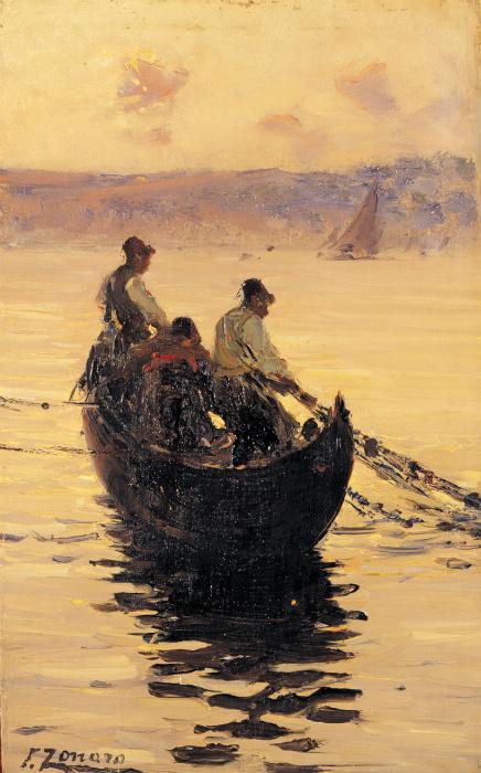 Рыбаки на Босфоре.
