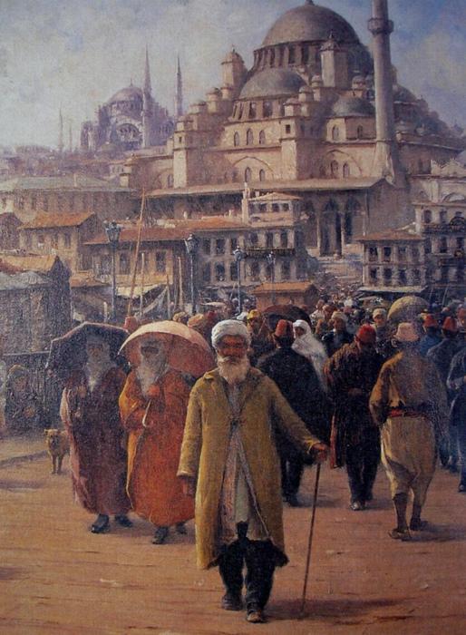 Вид на бывший собор Святой Софии.