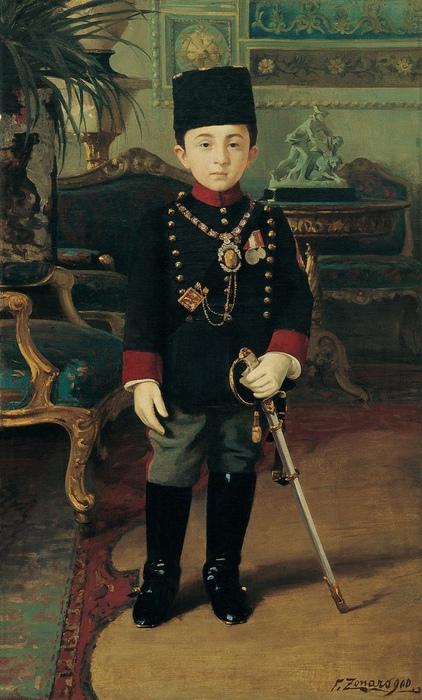 Портрет принца Абдуррахима.