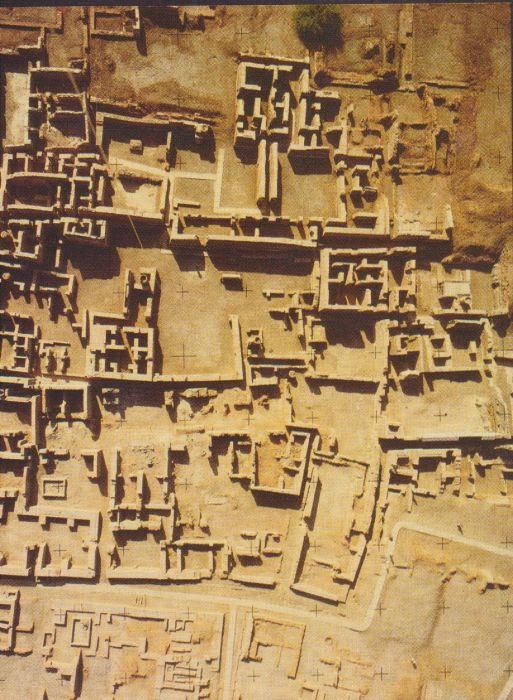 Древний город (вид сверху) могло накрыть мощными водяными или грязевыми потоками. /Фото:pinmash.com