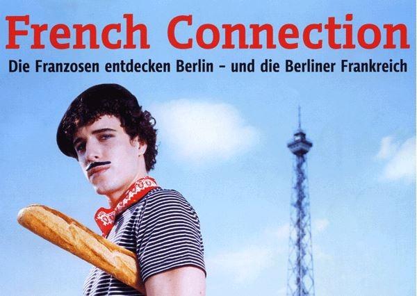 französische Stereotype auf dem Titelbild eines Berlin-Magazins