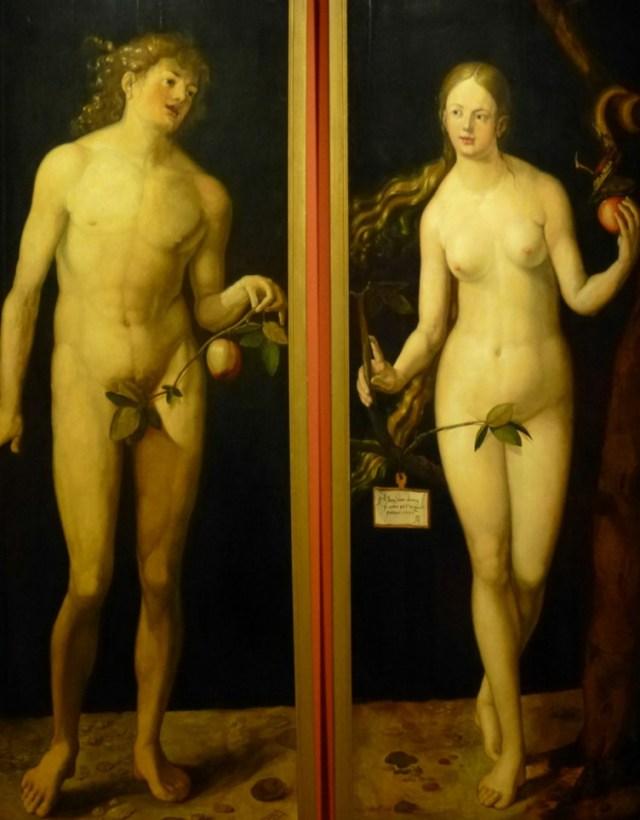 fragiler Stand der Frau auch schon bei Albrecht Dürer ...