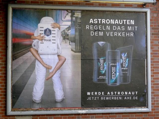 Sexismus in der Werbung von Axe