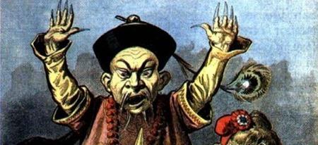 Chinesen Stereotyp Karikatur Petit Journal 1898