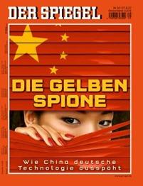 Stereotyp gelbe Haut der Chinesen Spiegeltitel 2007
