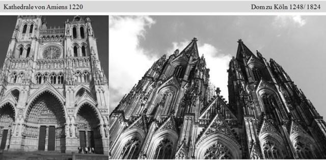 deutscher Dom nach dem Vorbild einer französischen Kathedrale