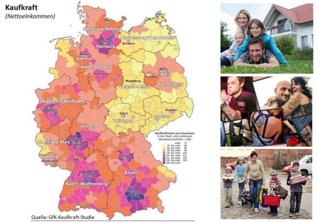 Einkommen und Milieus in Deutschland